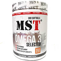 MST Omega 3 Selected (55%) Fish Oil caps 300