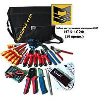 НЕК-102Ф Набір інструментів електрика КВП (19 предметів)