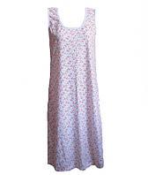 Ночная рубашка женская без рукава,женская одежда от производителя,комсомольский женский трикотаж,кулир