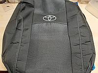 "Чехлы на Toyota Yaris 2005-2011 (hatchback) / авто чехлы Тойота Ярис ""Nika"""