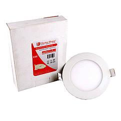 LED панель Круглая 4100К Ø 120мм/Ø раб. 100мм 6 Вт 540 Лм