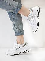 Женские белые кроссовки Nike M2K Tekno White (Найк М2К Текно)