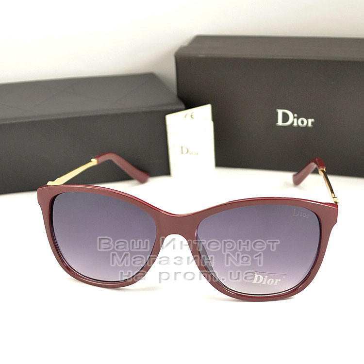 Сонцезахисні окуляри Dior дзеркальні бузкові оправа металева ультрамодні якісна репліка