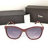Сонцезахисні окуляри Dior дзеркальні бузкові оправа металева ультрамодні якісна репліка, фото 5