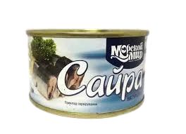 """Рибна консерва сайра """"Морской мир"""" 240г натуральна"""