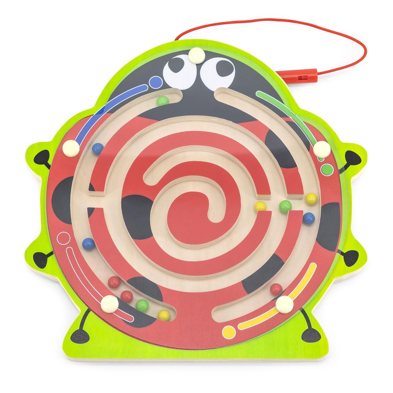 Магнитный лабиринт Божья коровка Viga toys (59964)