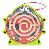 Магнитный лабиринт Божья коровка Viga toys (59964), фото 1