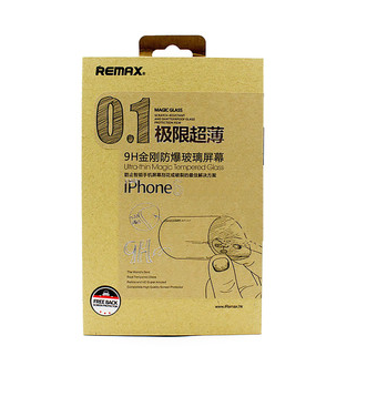 Захисне скло 0.1 mm Remax Ultra-thin Magic Tempered Glass iPhone 6 Plus/6S Plus, фото 2