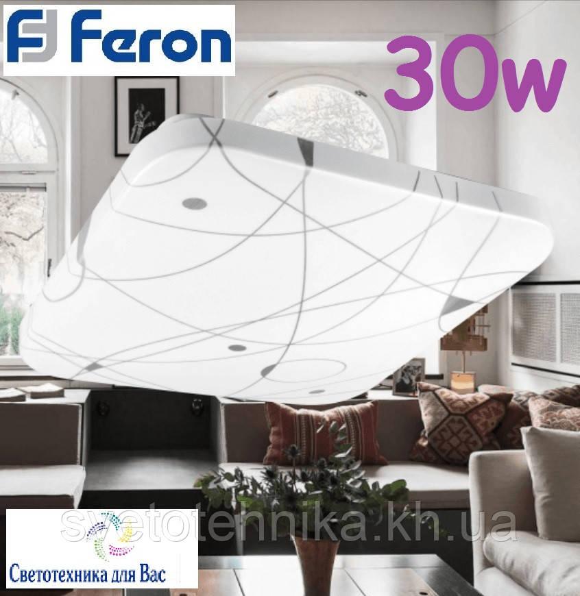 Накладной светодиодный светильник люстра LED Feron AL537 30W 4000К