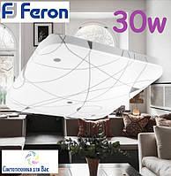 Накладной светодиодный светильник люстра LED Feron AL537 30W 4000К, фото 1