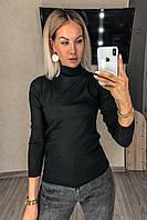 Водолазка-Гольф базова жіноча, під горло, фото 1