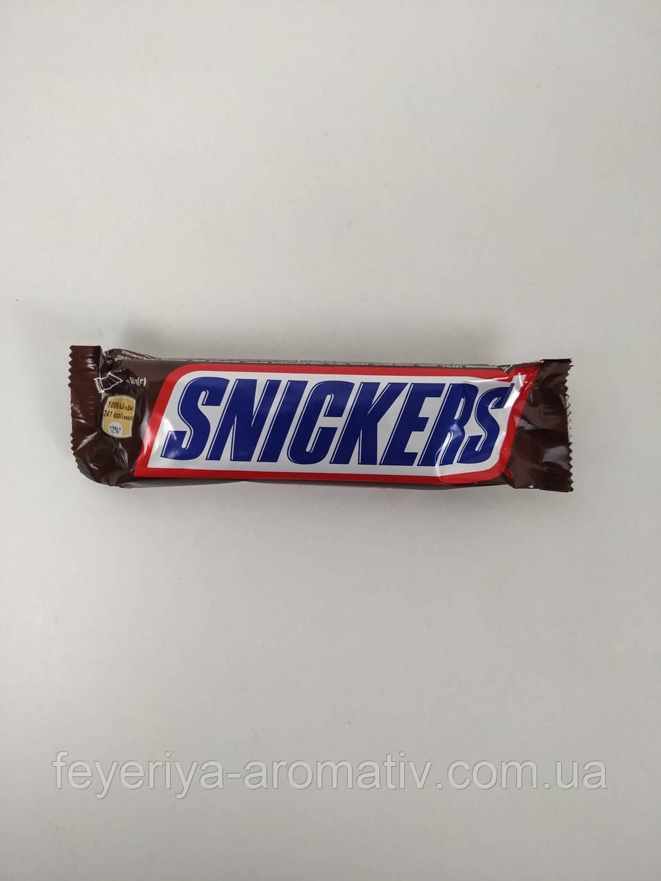 Шоколадный батончик Snickers 50гр. (Польша)