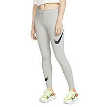 Леггинсы женские Nike Legasee Swoosh CJ2655-063 Серый M