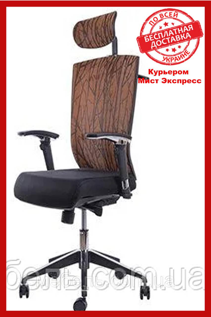 Офисный стул Barsky G-4 ECO chair Orange, сетка