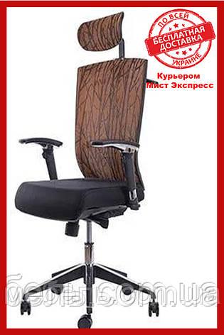 Офисный стул Barsky G-4 ECO chair Orange, сетка, фото 2