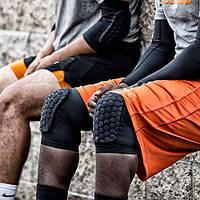 Наколенники баскетбольные McDavid Hex Knee Pads 6440 защитные компресионные размер M черные 2 шт. (6440)