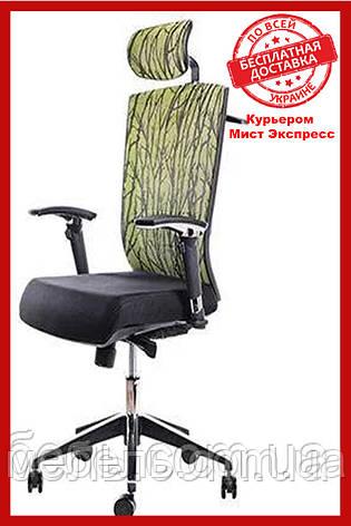 Офісний стілець Barsky ECO chair Green G-1, фото 2
