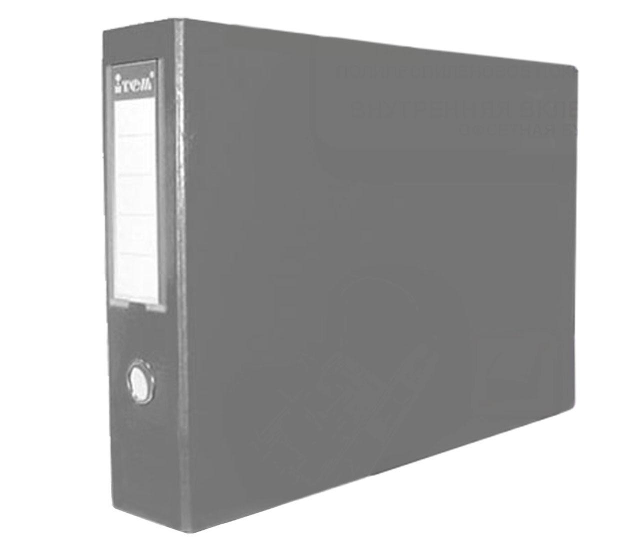 Папка-регистратор, А3, 70 мм, горизонтальная, PP-покрытие