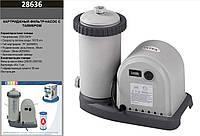 Intex фільтр-насос 28636 (1шт)від мережі 220-240В,для каркасних і наливних 1500 гал/год