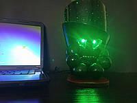 Светильник. Ночной светильник. Ночник. USB.LED. Оптоволокно.