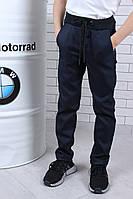Стильные детские спортивные брюки на рост 122-140, фото 1