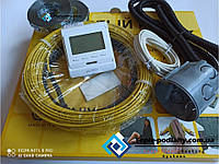 Надійний електричний кабель тепла підлога під плитку Ін-Терм Чехія, 7,9 м.кв (Серія Е-51) + Подарунок, фото 1