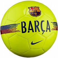 Мяч футбольный Найк размер 5 Nike FC Barcelona Supporters Полиуретан Желтый (ЛФ SC3291-702-5)
