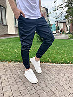 Мужские брюки. Мужские штаны. Чиносы темно-синие