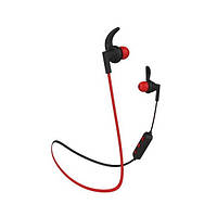 Навушники вакуумні безпровідні з мікрофоном Langsdom BS85 BlackRed