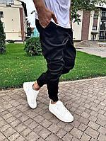 Мужские брюки. Мужские штаны. Чиносы черные