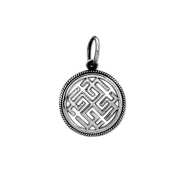 """""""Сварожич"""" - слов'янський оберіг із срібла 925 проби"""