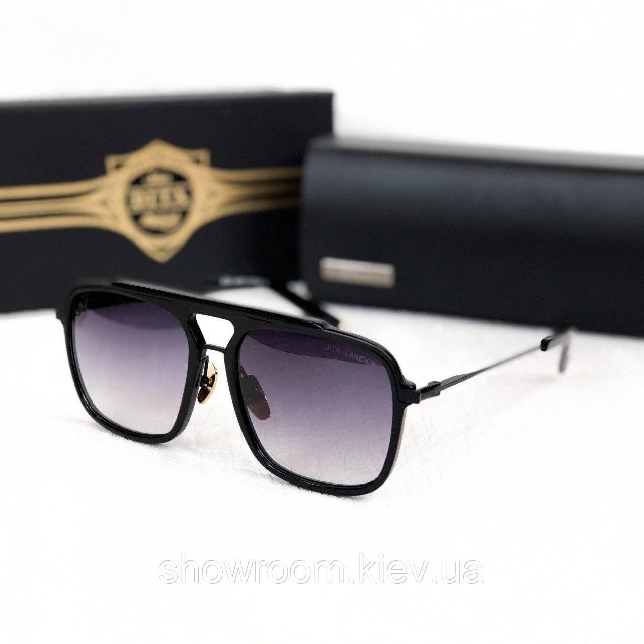 Мужские солнцезащитные очки Lancier grey Lux