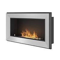 Биокамин Simple Fire Frame 900 серый со стеклом