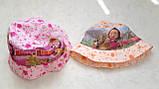 """Панамка детская для девочек """"Маша"""" 52 р. хлопок Вьетнам, фото 3"""