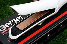 Выпрямитель утюжок для волос Gemei GM 2956, фото 2