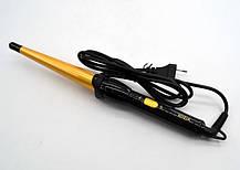 Конусная плойка для завивки локонов Rozia HR713 Конус стайлер для волос, фото 2