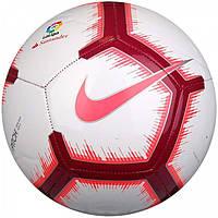 Мяч футбольный испанской Ла Лиги Найк размер 5 Nike La Liga Pitch Полиуретан Белый (ЛФ SC3291-702-5)