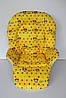 Чехол к стульчику для кормления Capella, Bambi, ABC Design Минни Маус на желтом