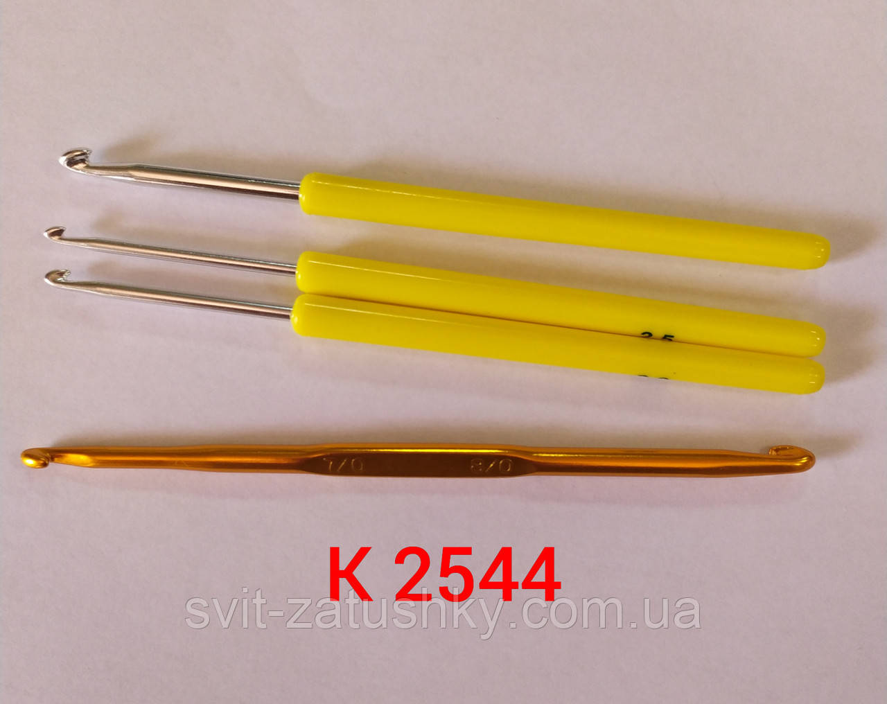 Гачок для в'язання  металевий /Крючок для вязания металический