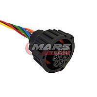 Роз'єм підключення ліхтаря 7 контактний Mars AMP 1.5 з проводами