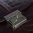 Мужской кожаный портфель Desisan, фото 7