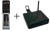 3G модем Sierra 597e + WiFi роутер Unefon MX-001 c Lan-портами