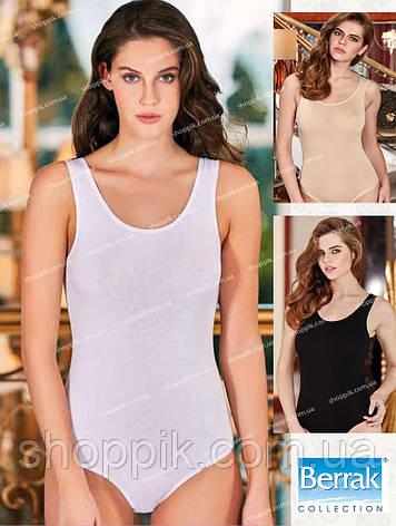 Боди женское Berrak 2083 Турция S, M, L, XL Белый, фото 2