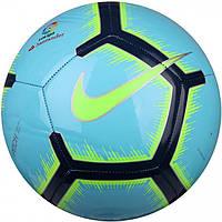 Мяч футбольный размер 5 испанской Ла Лиги Найк Nike La Liga Pitch Полиуретан Голубой (ЛФ SC3318-483-5)