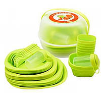 Набор посуды для пикника 48 предметов