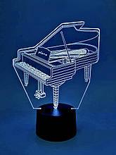 """Дитячий нічник - світильник нічник """"Рояль"""" 3DTOYSLAMP"""