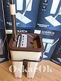 Швабра з відром з автоматичним віджимом Тріумф   Комплект для прибирання Диво-швабра і відро з віджимом, фото 7