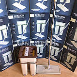Швабра з відром з автоматичним віджимом Тріумф   Комплект для прибирання Диво-швабра і відро з віджимом, фото 6