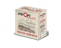 Теплый пол двухжильный нагревательный кабель ProfiTherm Eko 1375 Вт, 83 м (комплект)