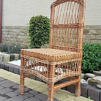Кухонный плетеный стул из лозы